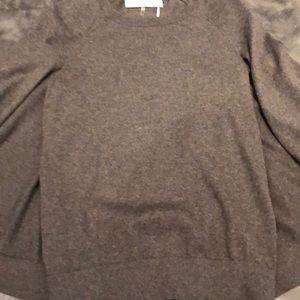 Gray Sweater.